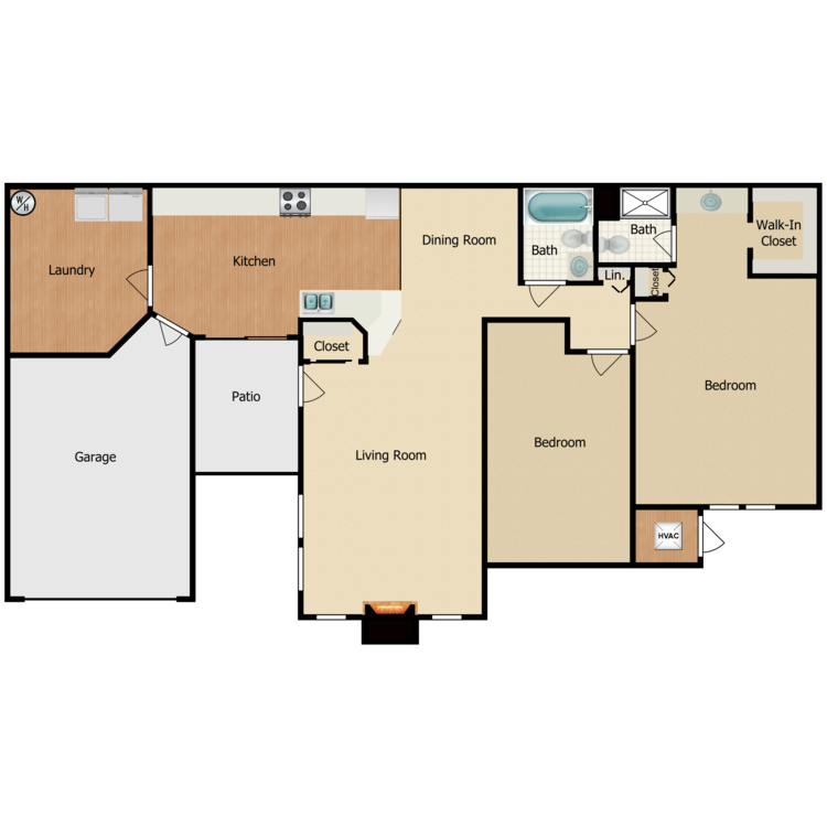 Floor plan image of Prestwick