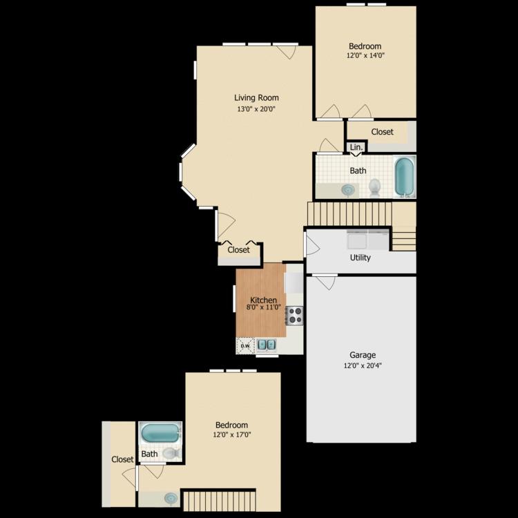 Floor plan image of Scotch Pine