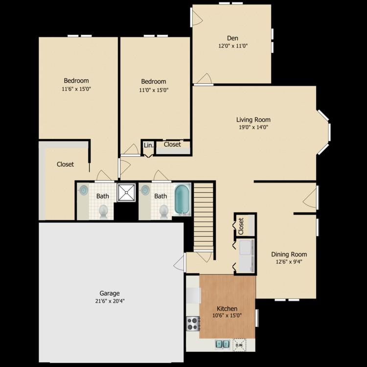 Floor plan image of Silver Maple