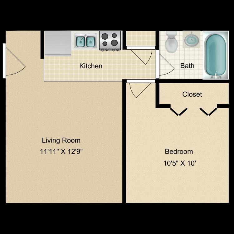 Floor plan image of Silver Cascade