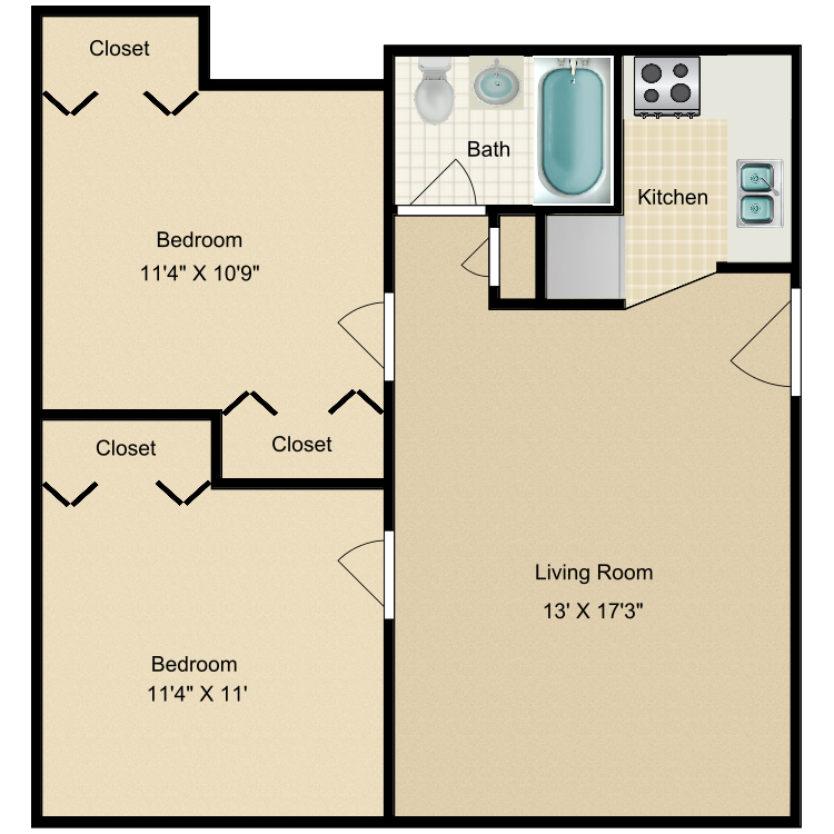 Floor plan image of Canyon Vista