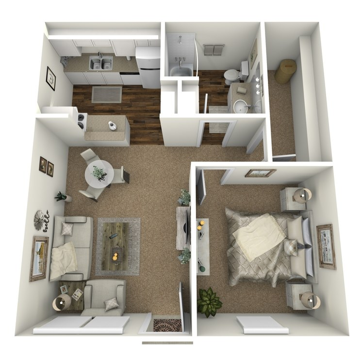 Floor plan image of Plan A1