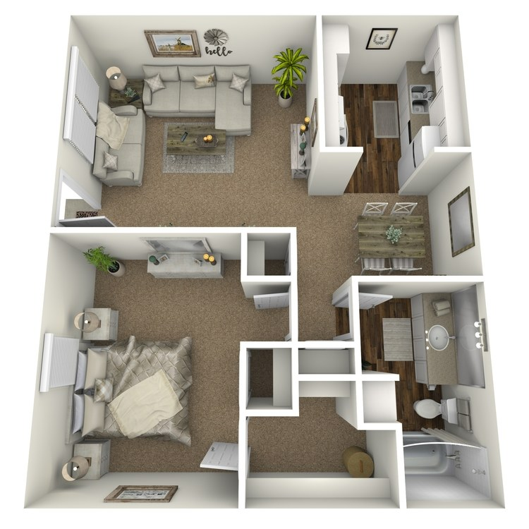 Floor plan image of Plan A2