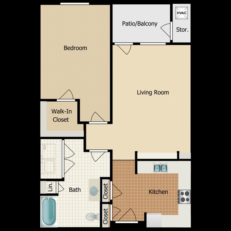 Floor plan image of Palomino