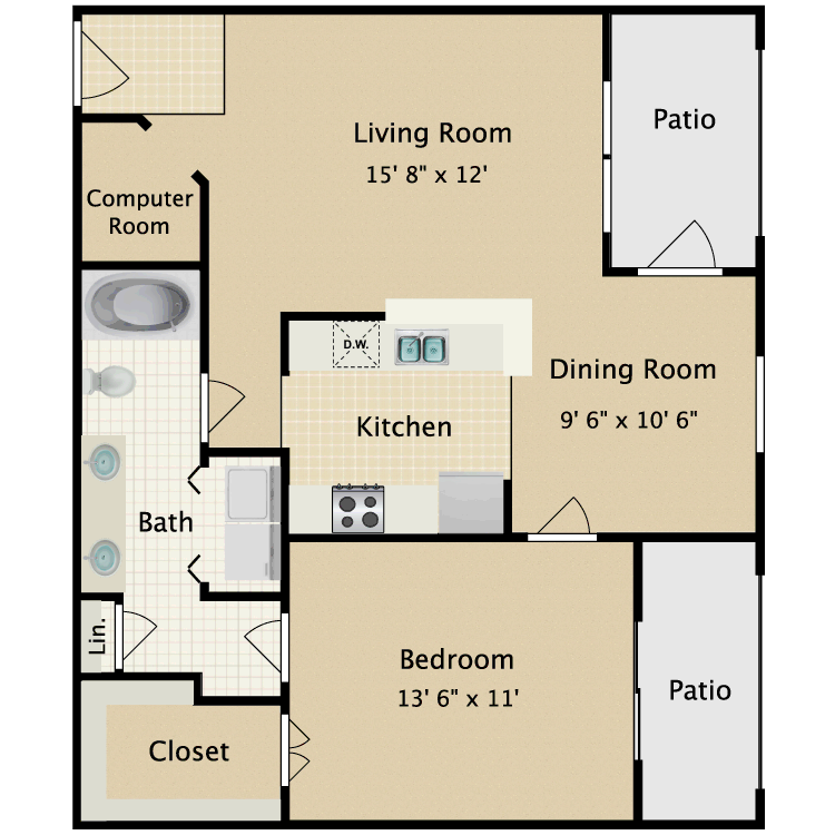 Floor plan image of The American Eagle
