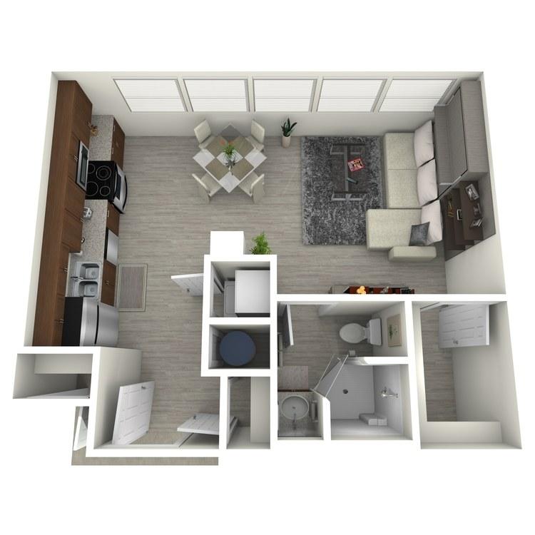 Floor plan image of Unit L