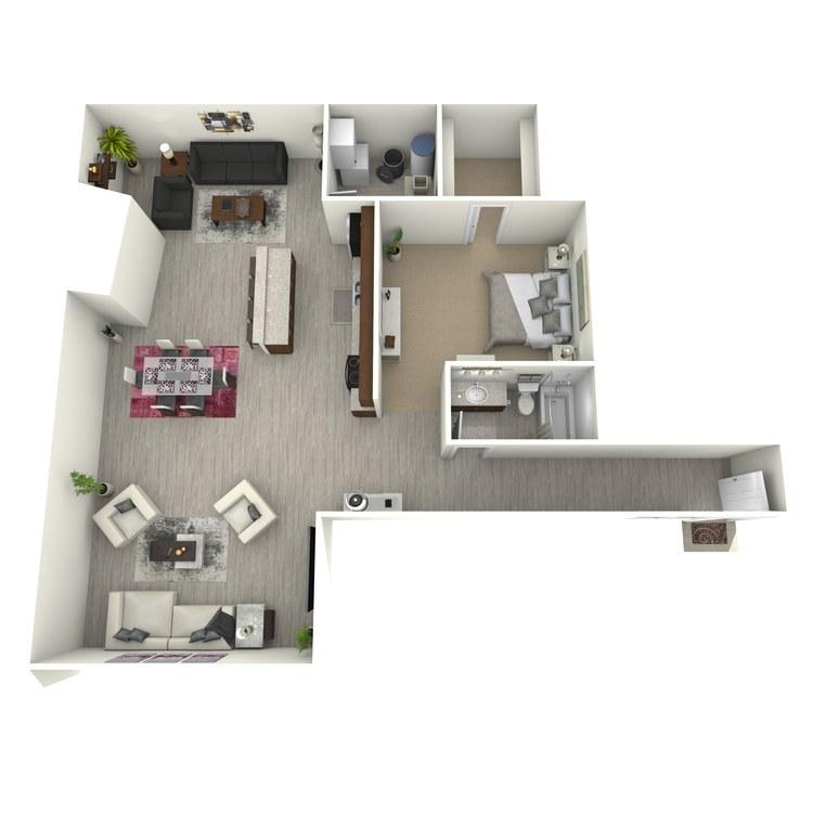 Floor plan image of Unit U