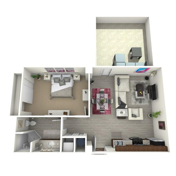 Floor plan image of Unit S