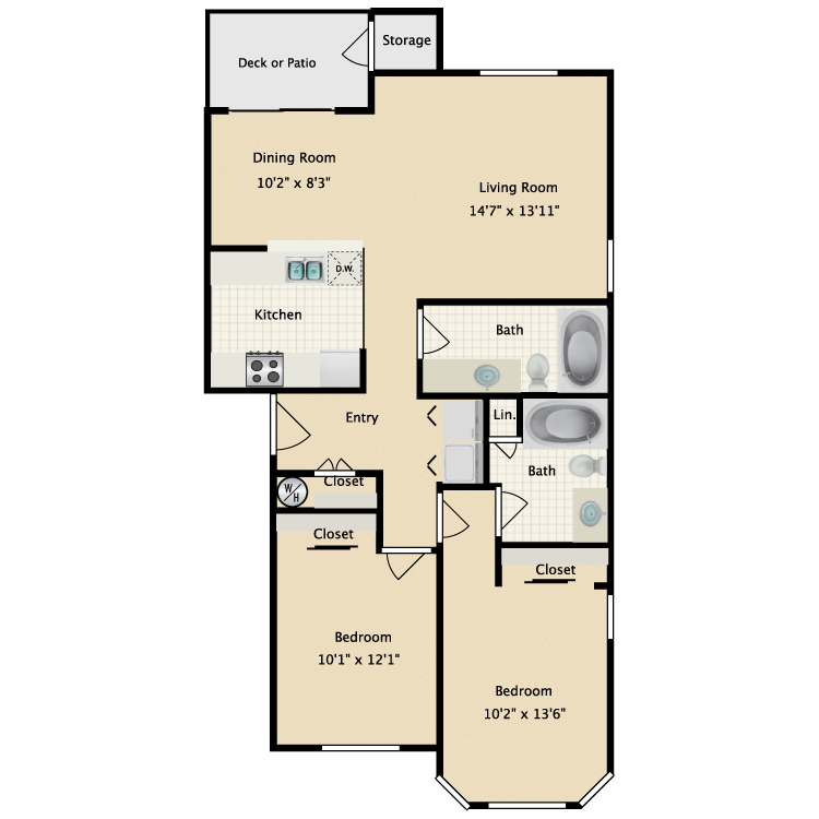 Floor plan image of Con Amore