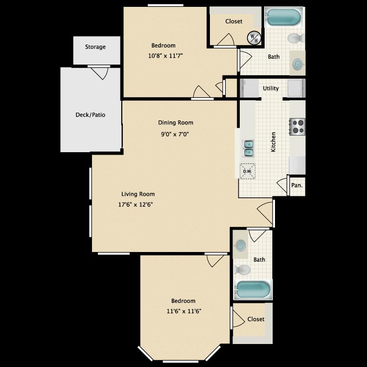 Floor plan image of D'Lusso