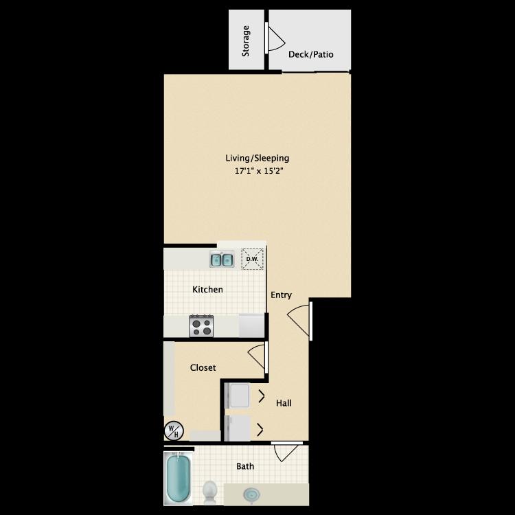 Floor plan image of Il Mio Posto