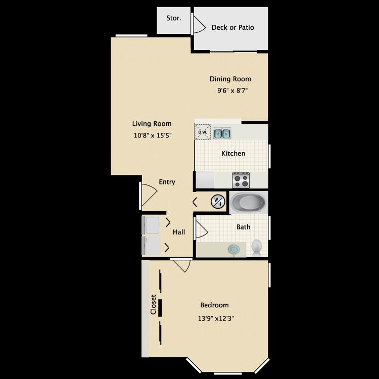 Floor plan image of Saluto