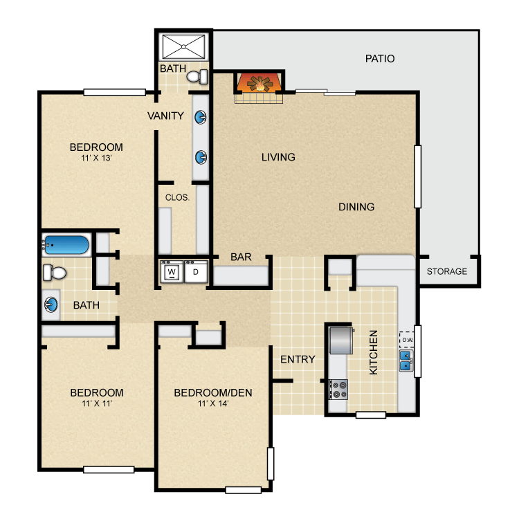 Floor plan image of Cardinal