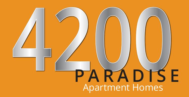 4200 Paradise Logo