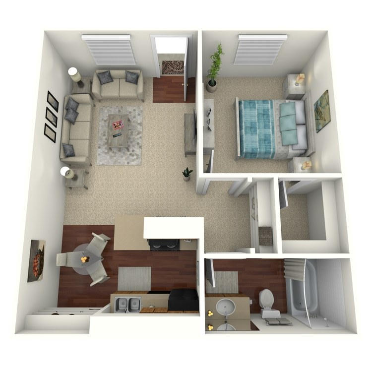 Floor plan image of Sunset