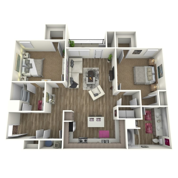 Floor plan image of The Scarlett *Attach Garage on Select Homes