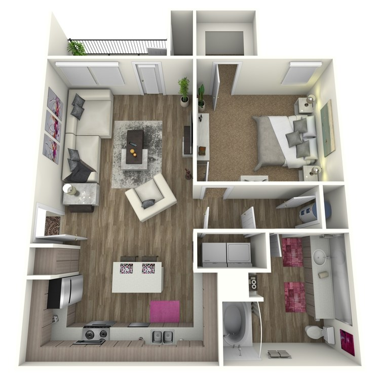 Floor plan image of The Bur *Attach Garage on Select Homes