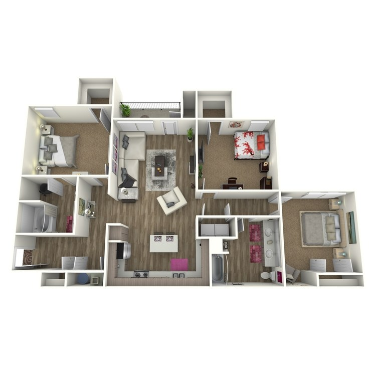 Floor plan image of The Willow *Attach Garage on Select Homes