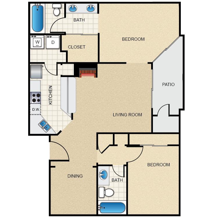 Floor plan image of Windsor