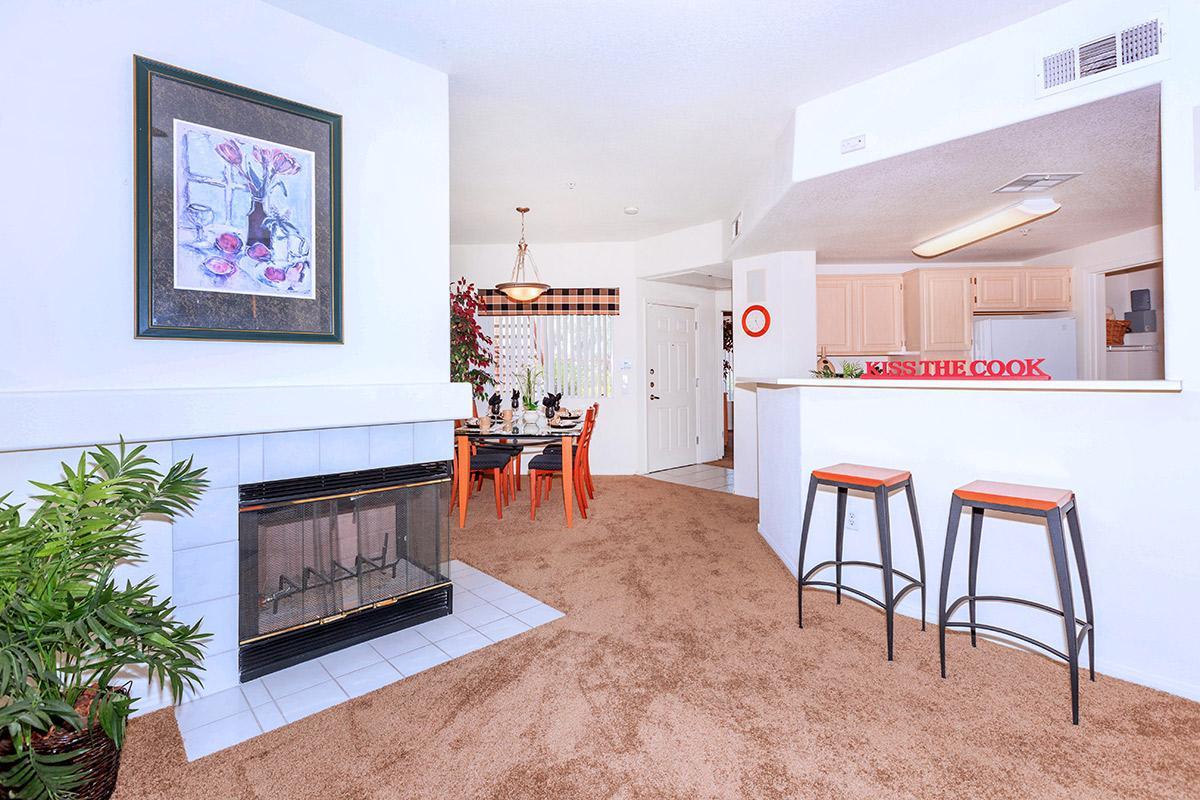 a living room