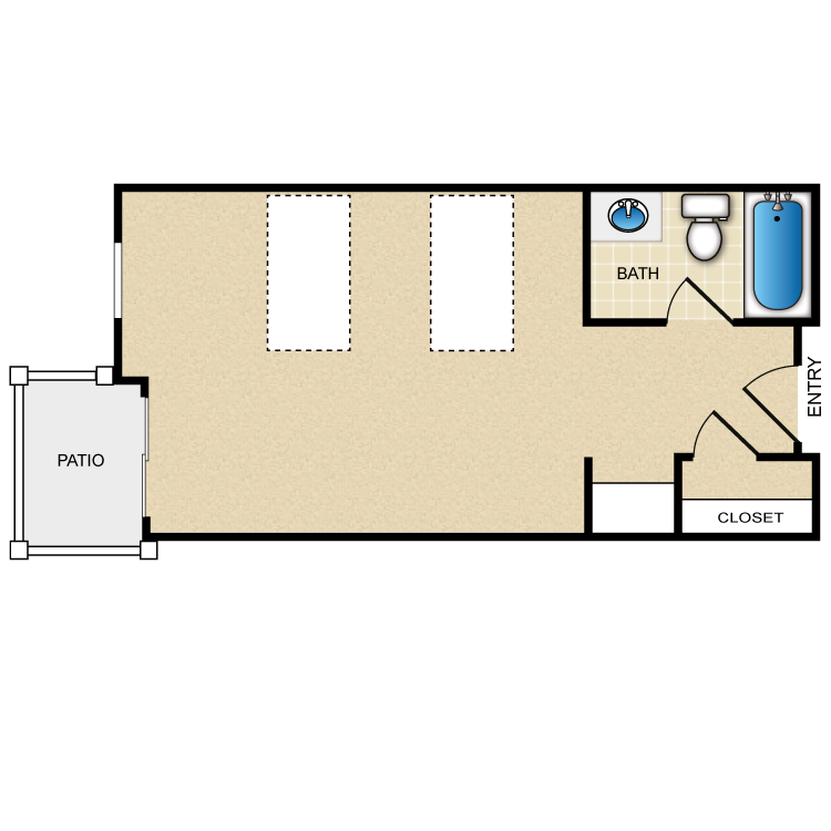 Floor plan image of Astaire