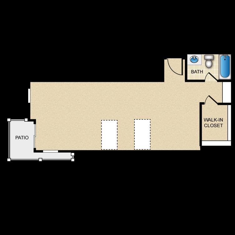Floor plan image of Garland