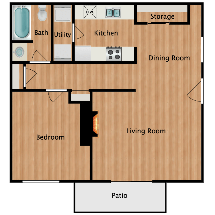 Floor plan image of Fieldstone