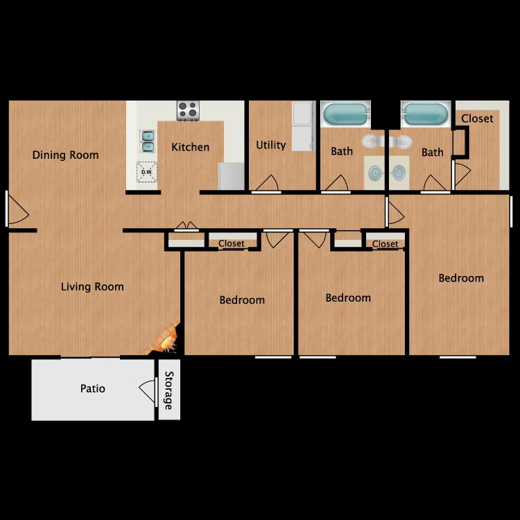Floor plan image of Winstead