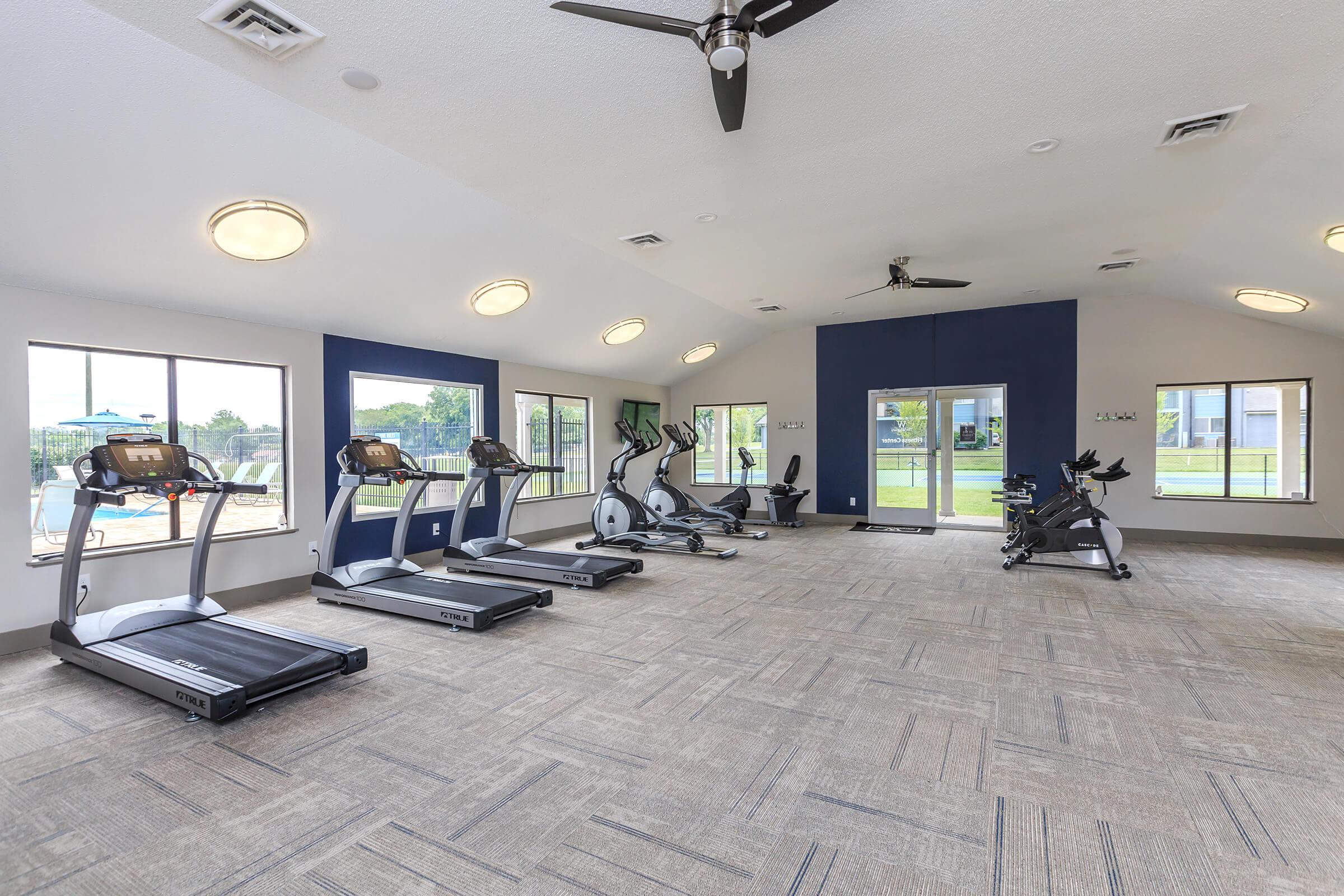 Stay In Shape With Our Fitness Center Here At The Whitney In Franklin, Tennessee