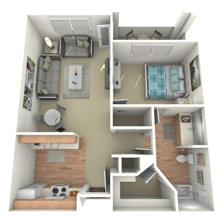 Floor plan image of San Fernando