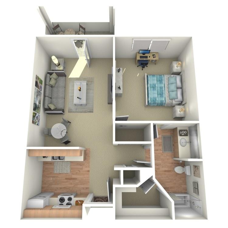 Floor plan image of San Miguel
