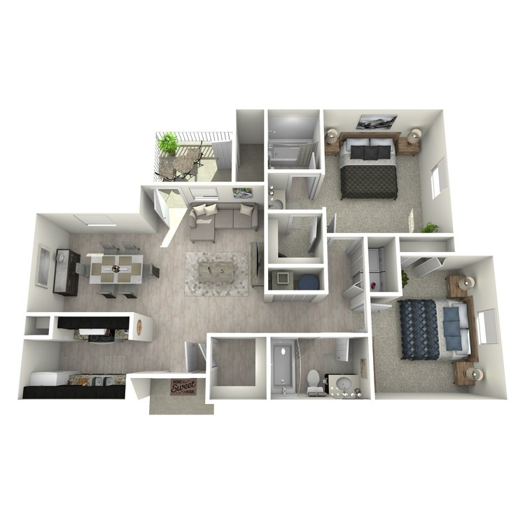 Floor plan image of Maple