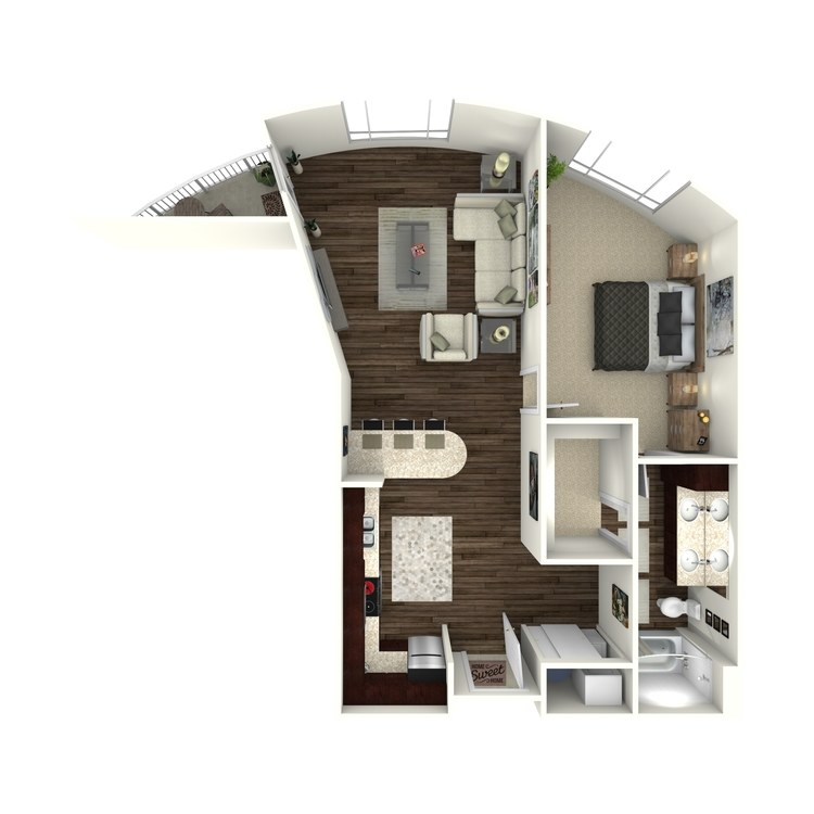 Floor plan image of Snowmass