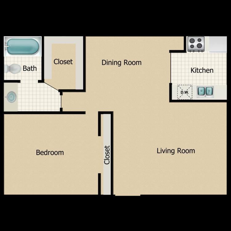 Juniper floor plan image