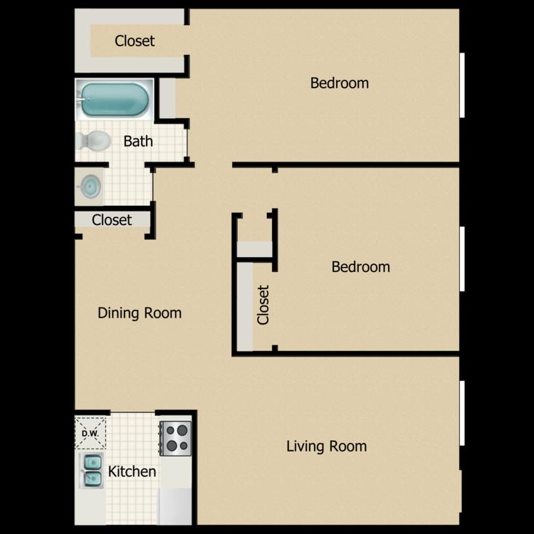 Hazel floor plan image