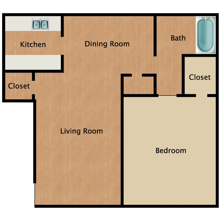 A1 floor plan image