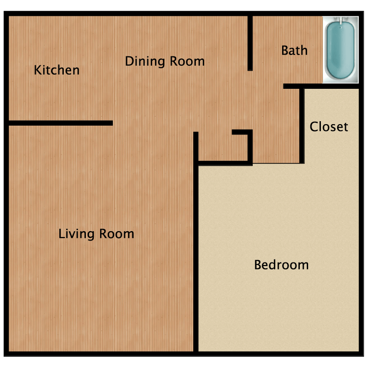 A2 floor plan image