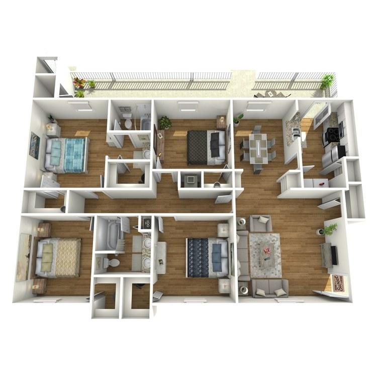 Floor plan image of G