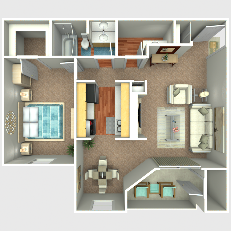 Floor plan image of The Outrigger