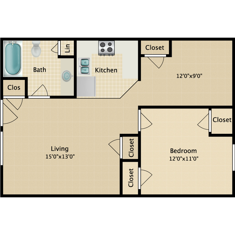 Floor plan image of The Ashford