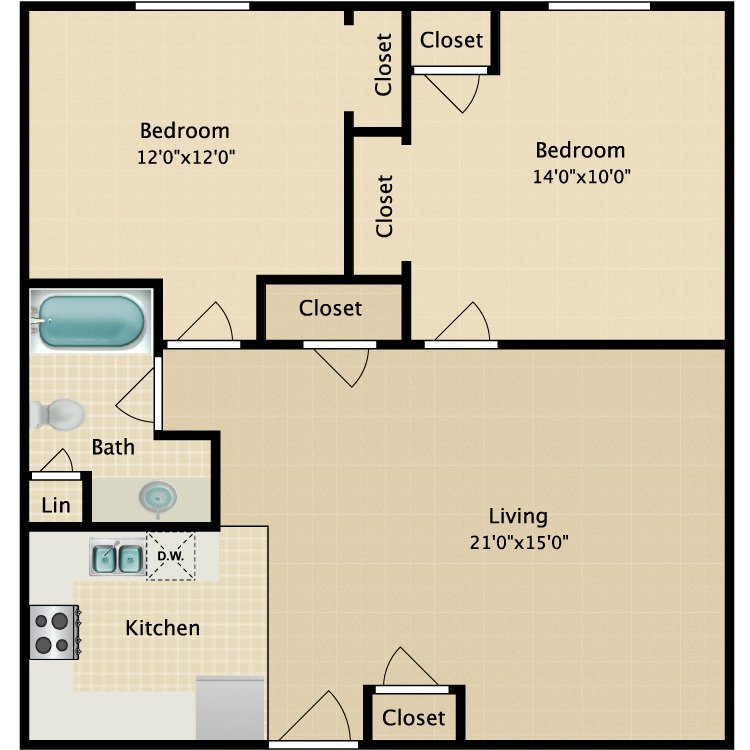 Floor plan image of The Atwood