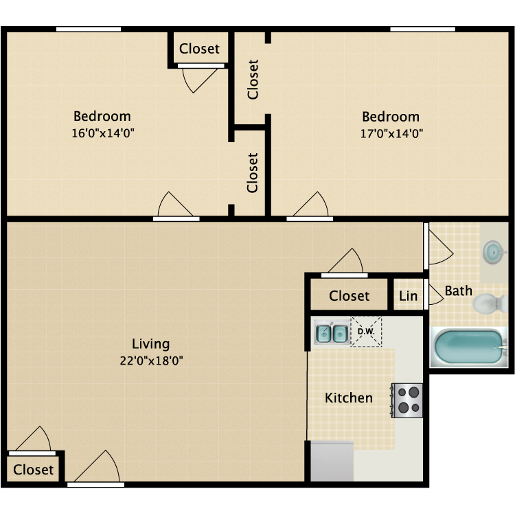 Floor plan image of The Candlewood