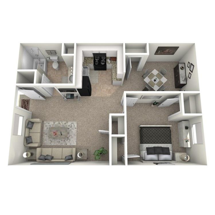 Floor plan image of The Ashford
