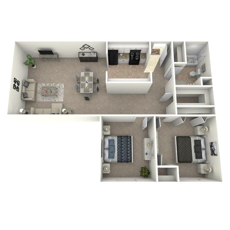 Floor plan image of The Kingsbury