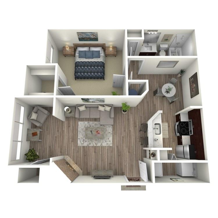 Floor plan image of Elderberry