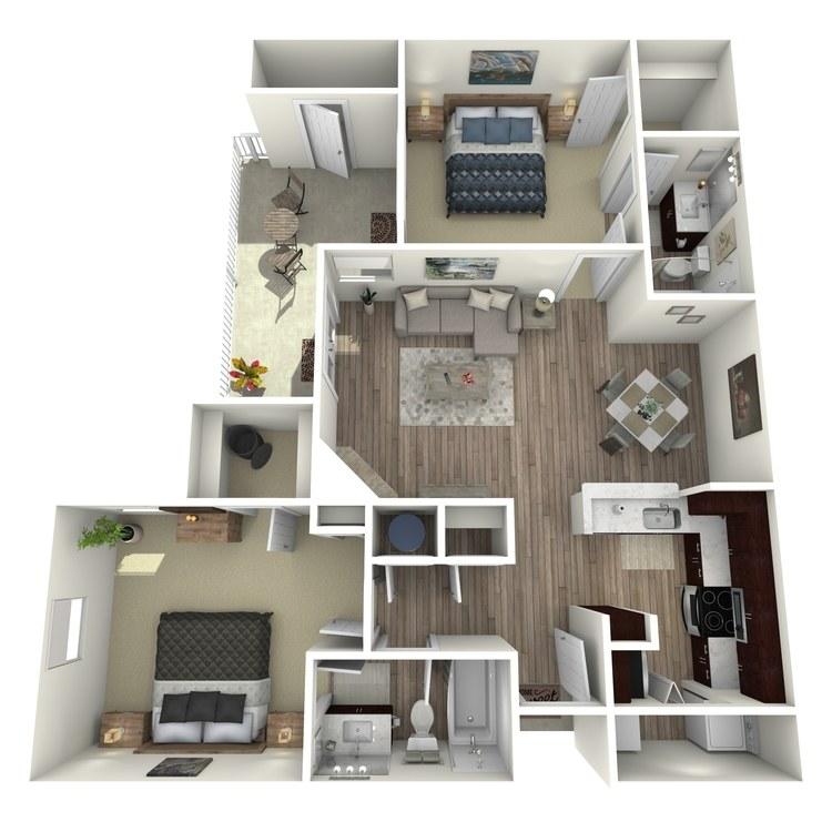 Floor plan image of Cranberry