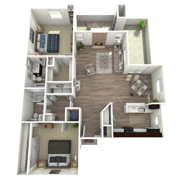 Floor plan image of Teaberry