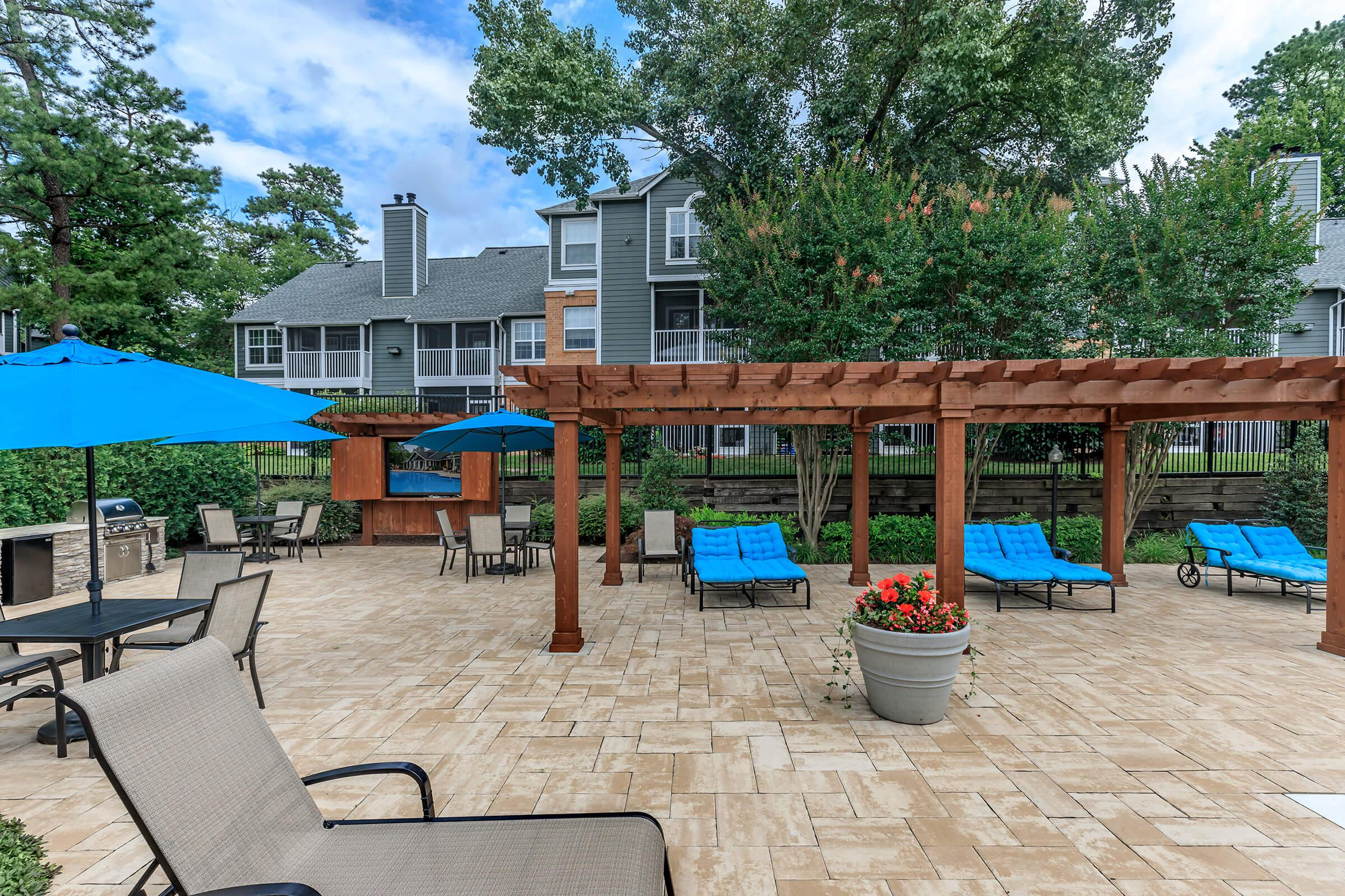 Patio at The Ashberry in Pasadena MD