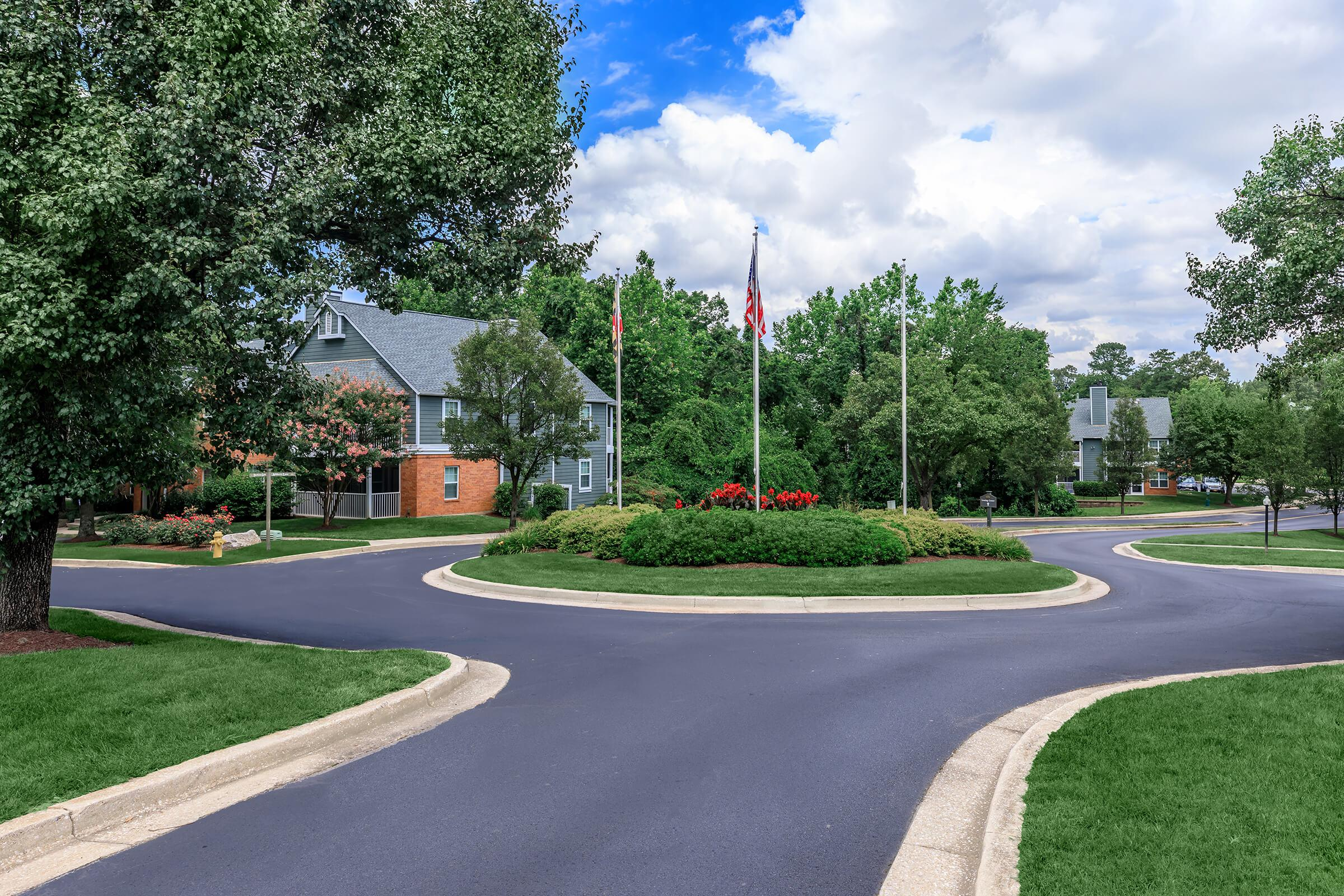 Landscaping at The Ashberry in Pasadena MD