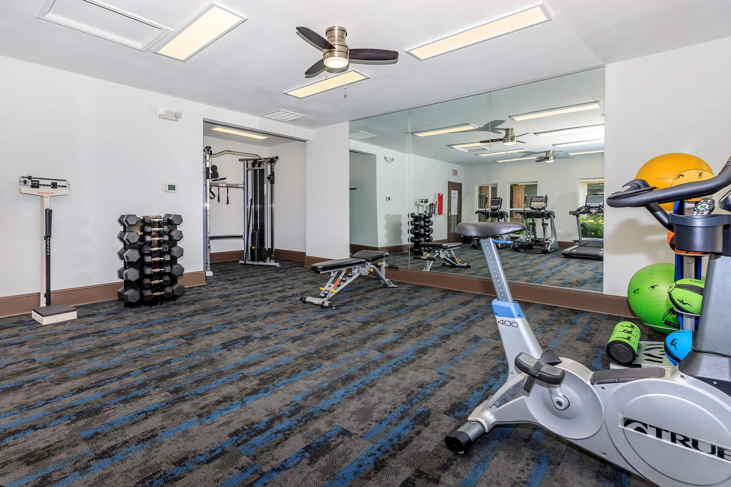 Fitness Center at The Ashberry in Pasadena MD
